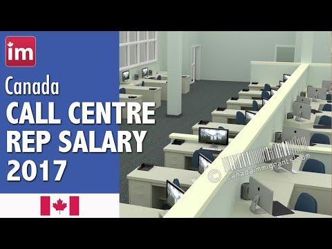Call Center Representative Salary In Canada (2017) - Jobs In Canada