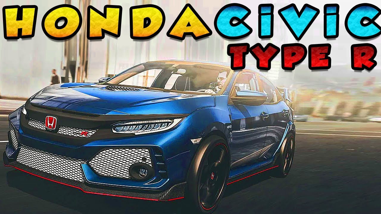 Otomatik Kurulum | Honda Civic TYPE R | GTA V | Epic Games | Social Club | Steam |