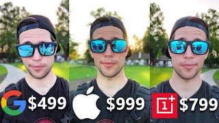 Oneplus 7 Pro vs Google Pixel 3a XL vs iPhone XS Max Camera Review Comparison