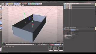 CINEMA 4D Урок как создать окно и дверь.