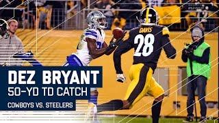 Dak Prescott's 50-Yard TD Bomb to Dez Bryant! | Cowboys vs. Steelers | NFL