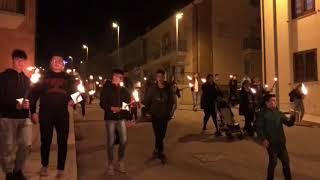 Fiaccolata in memoria degli angeli di San Giuliano di Puglia
