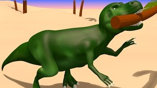 vids for kids in 3d hd dinosaur mr t rex fun with trees aapv