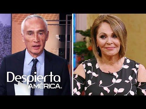 Jorge Ramos se despide de su colega y gran amiga María Elena Salinas