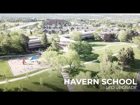 LED Updgrade with EOS | Havern School