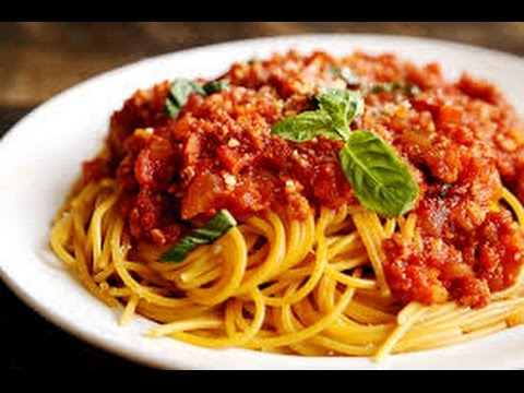 Special Spaghetti Bolognese   One Pot Chef