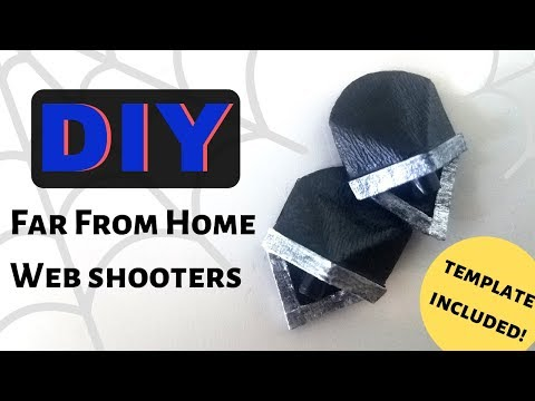 Spider-Man Far From Home Web Shooters | Cardboard DIY - easy