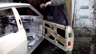 Влог. Подготовка к покраске ВАЗ 08.