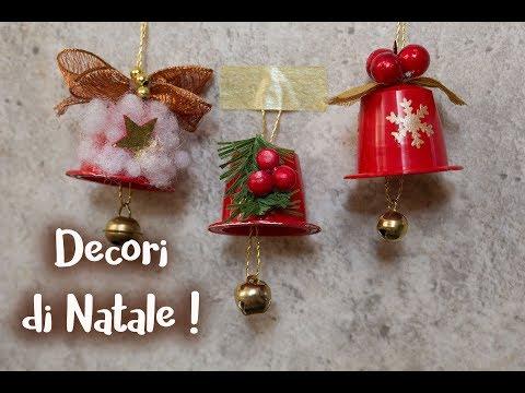 Addobbi Natalizi Con Cialde Nespresso.Campanelle Di Natale Con Cialde Del Caffe Youtube