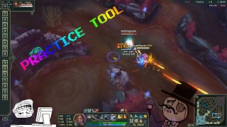 Lucian Ult + Passive [ PRACTICE TOOL BUG ]