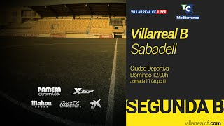 Villarreal B vs Sabadell full match