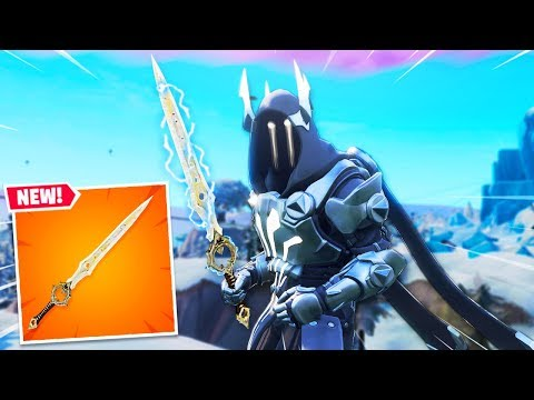 "NEW Fortnite ""INFINITY BLADE"" GAMEPLAY! - NEW Fortnite UPDATE (Fortnite Battle Royale Season 7 Live)"