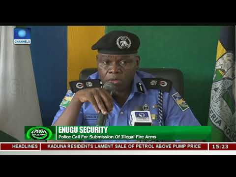 Enugu Security: Police Call For Submission Of Illegal Fire Arms