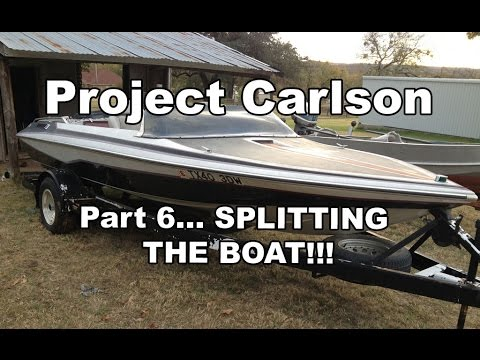 Project Carlson CVX-18 - Removing the Cap