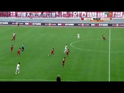 Shanghai SIPG's Asamoah Gyan scores classic goal in win over Liaoning Whowin