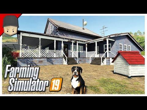 BUILDING THE FARM! : Ep.03 (Let's Play Farming Simulator 19)