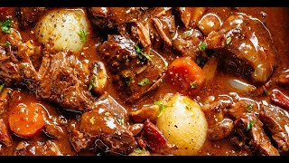 Beef Bourguignon Video