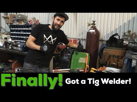 Finally got a Tig Welder!