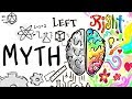 Left Brain Right Brain is a MYTH