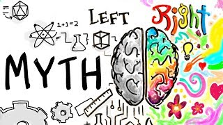 Left Brain Right Brain is a MYTH