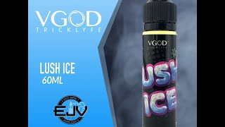 vgod lushice 60ml juice تست جوس هندوانه یخ از کمپانی ویگاد