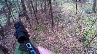 Охота #109 загонная, стрелял лося подранка