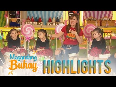 Magandang Buhay: Meet the cute triplets of Ramona Revilla