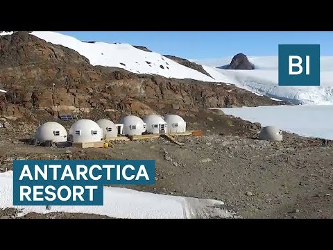 This $80K/week Antarctica resort looks like a space colony