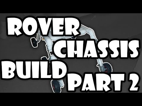 Planetary Rover - Chassis Build Part 2