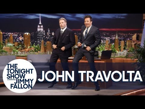 Gotti's John Travolta Does His Iconic Grease Dance with Jimmy to Celebrate the 40th Anniversary