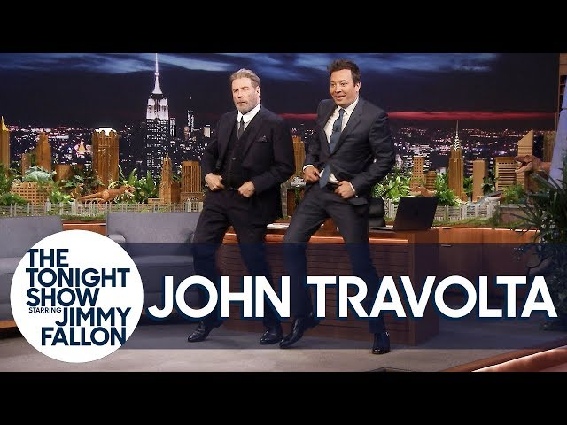 Gotti\'s John Travolta Does His Iconic Grease Dance with Jimmy to Celebrate the 40th Anniversary