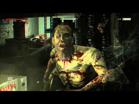 "Outlast: Whistleblower - Cannibal's Kitchen: Cannibal Intro ""Don't You Look at Us"" Head Pop Scene"