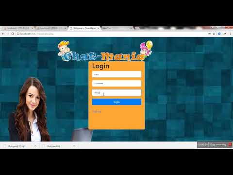 ChatRoom Application With PHP And MYSQL | Whatsapp And Facebook Like Chat