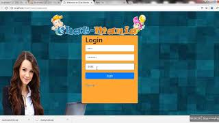 ChatRoom Application with PHP and MYSQL   Whatsapp and facebook like Chat