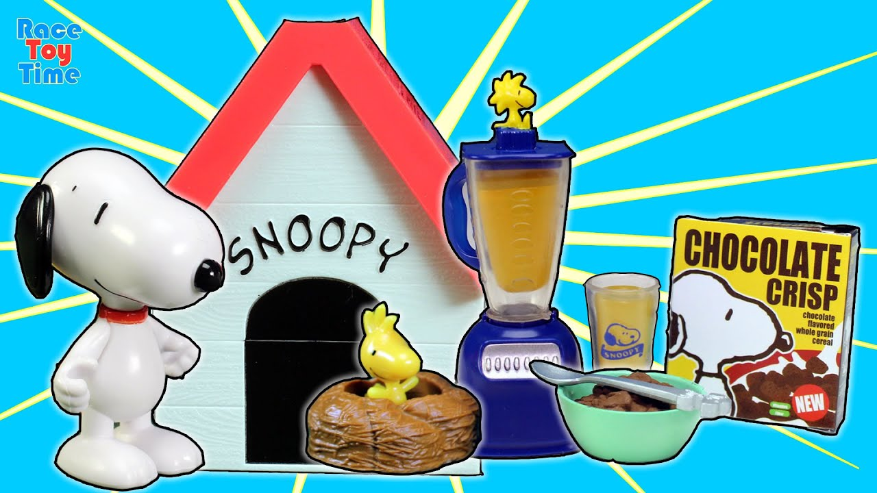 Snoopy s Dog House Re ment Charlie Brown s School Days Cake Shop Toy Collection