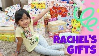 RACHEL'S NEW YEAR'S PRESENTS