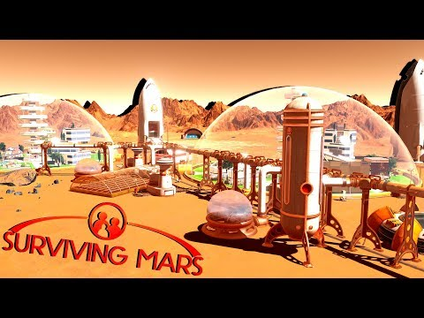Fungal Farms and Medium Dome Research! - Ep. 6 - Surviving Mars Gameplay