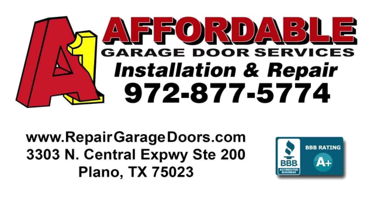 A1 Affordable Garage Door Services Plano Tx Dandk Organizer