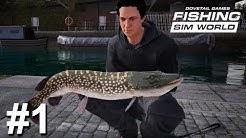 Was bietet die neue Angelsimulation und 1. Boss Fisch Hecht   Fishing Sim World #1   Deutsch   UwF