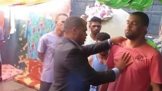 Libertação no Presídio demônio terrível manifesta. Pastor Vanderson Trovão