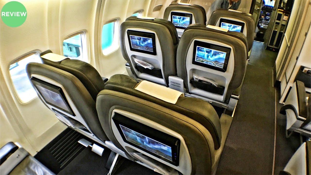 Icelandair saga class flight review gothenburg to reykjavik also rh youtube