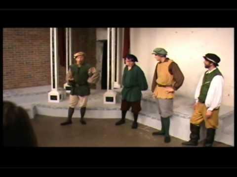 Gratiano:  The Merchant Of Venice  Charleston Alley Theatre Earl Halbe