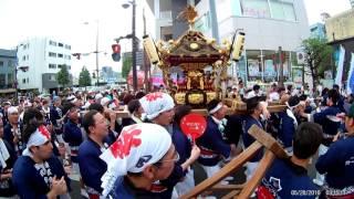高崎まつり2017 2017年8月5日 ガトーフェスタ ハラダ 神輿 原田