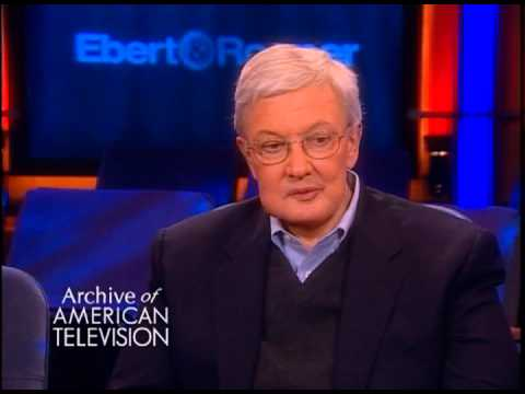 Roger Ebert discusses film criticism - EMMYTVLEGENDS.ORG
