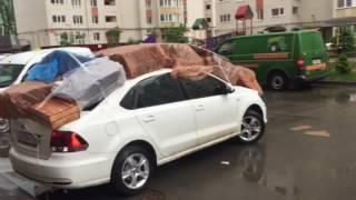 видео Как защитить машину от града