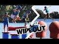 Wipeout Challenge Met Broertje En Gio!