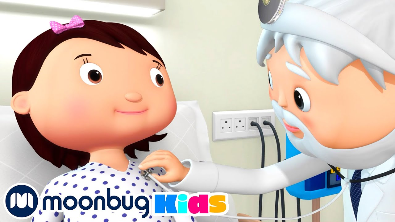 Staying In The Hospital | Health and Hygiene | Nursery Rhymes | Healthy Kids | Little Baby Bum