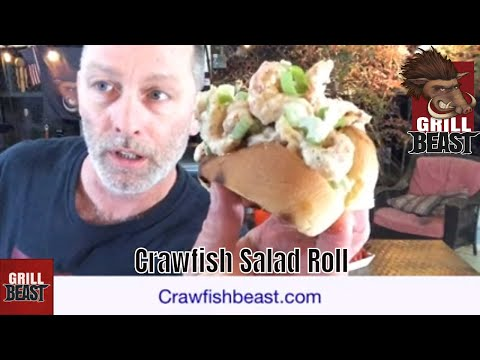 Crawfish Salad Roll