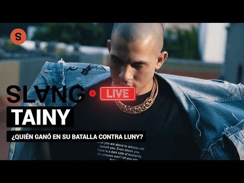 Tainy nos dice quién cree que ganó la batalla de beats entre él y Luny | Slang Live