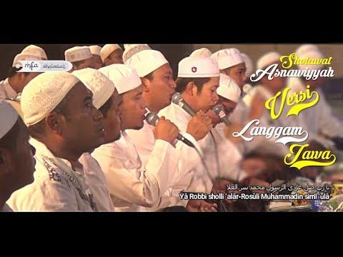 Sholawat Asnawiyyah Versi Langgam Jawa  يا رب صل علی الرسول  - Ahbabul Musthofa   MFA Sholawat